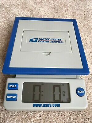 Genuine Rare United States Postal Service 10lb Digital Table Scale