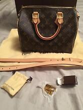 Brand new auth Louis Vuitton speedy 25 b & coin purse rare Canning Vale Canning Area Preview