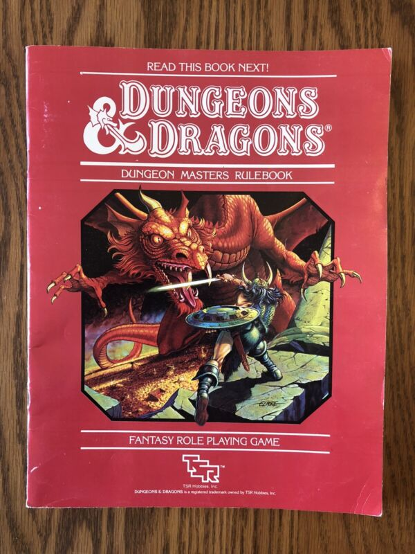 DUNGEON MASTERS RULEBOOK 1983 Dungeons & Dragons 1st Edition
