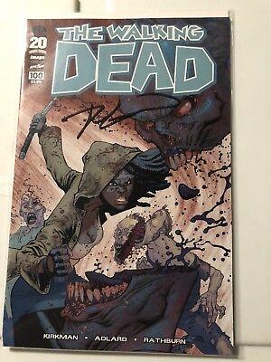 The Walking Dead #100 Ryan Ottley Sketch Signed Robert Kirkman High Grade, used for sale  Windsor
