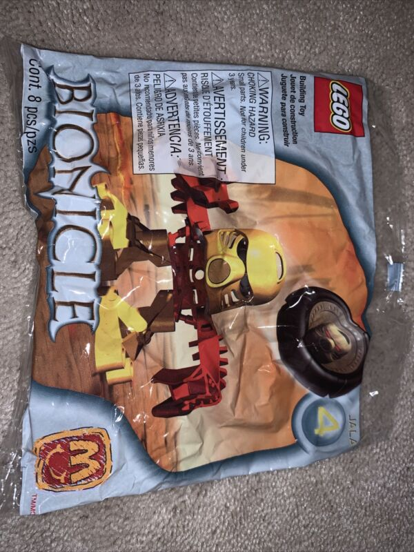 LEGO BIONICLE JALA MCDONALDS HAPPY MEAL BUILDING TOY NEW IN PACKAGE
