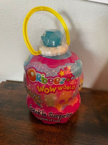 Orbeez Wow World Sparkle Surprise Legends of Luck Mystery Pack Blue NEW SEALED