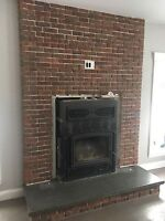 Tine brick installation