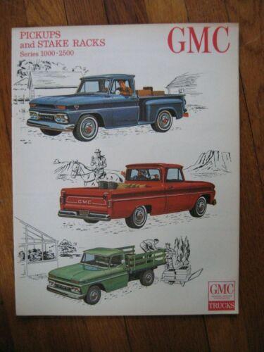 1963 GMC Pickup Truck Brochure ORIGINAL
