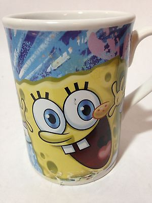 Spongebob Squarepants and Patrick Collectors Coffee Tea Cup Mug Glass (Spongebob Cup)