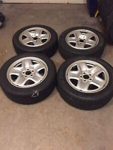 17 inch steel rims with 225/55R17 winter tires