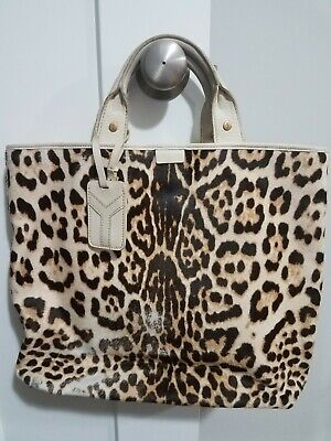 Yves Saint Laurent Women's Handbag Leopard Tote