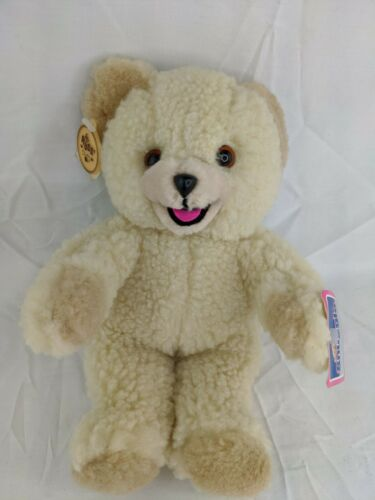"Russ Snuggle Bear Plush 10"" Lever Brothers 1986 Stuffed Animal Toy"