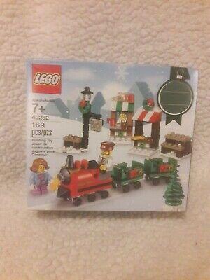 LEGO Christmas Train Ride (40262) Retired HTF Sealed Set