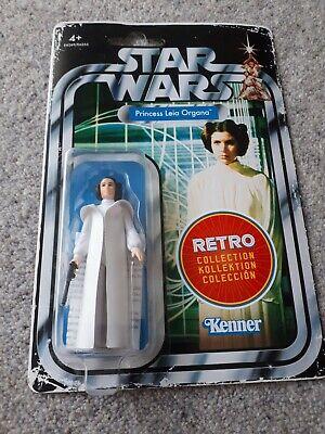 Star wars retro figure princess leia organa . Mint in box
