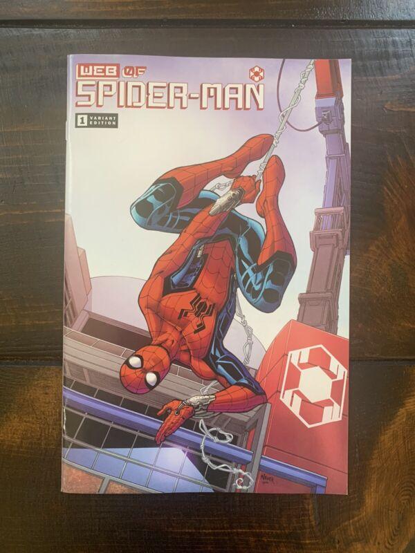 Web of Spider-Man #1 Variant Disney Avengers Campus Cast Member Exclusive Comic!