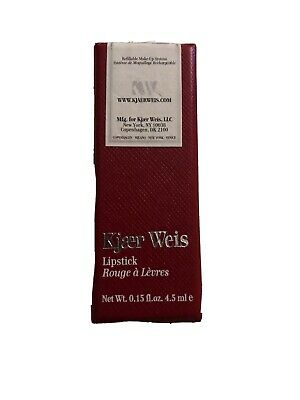 Kjaer Weis Red Sucré Lipstick Brand New In Box