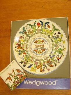 1976 Wedgewood Calendar Collector Plate with Box Murray Bridge East Murray Bridge Area Preview
