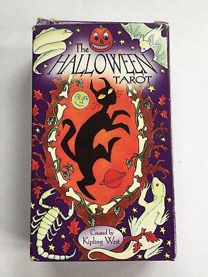 deck by Kipling West (Halloween-tarot-deck)