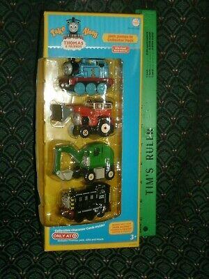 Thomas the Train * Take Along * MAVIS, ALFIE, JACK & THOMAS * Diecast *NIB* 4PAC
