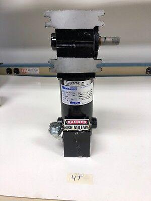 Bison Minarik 507-02-124 Right Angle Dc Gear Motor 18hp 90v 601ratio 1800rpm