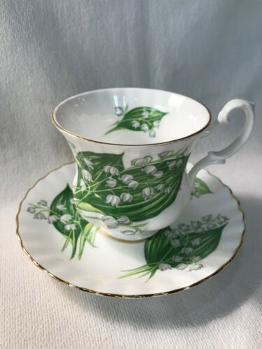 Vintage Royal Albert Lily of the Valley Teacup and Saucer