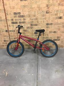 Red BMX with blue Rimes Bundoora Banyule Area Preview