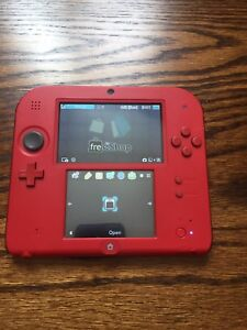 Nintendo 2DS Red - Modded