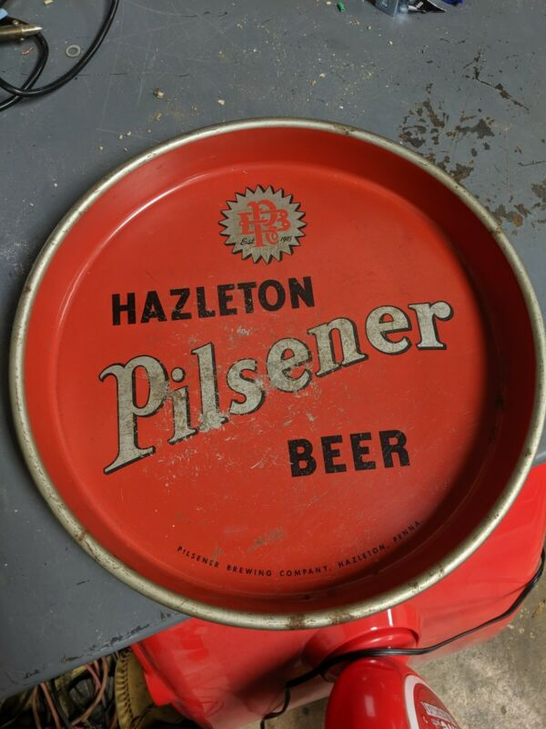 Hazleton Pilsner Brewing Co. Beer tray, Pennsylvania