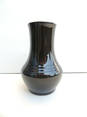 RARE Fiesta HLC Royalty Black Vase - $115.00