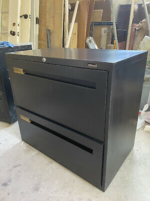 Boulevard 2 Drawer Filing Cabinet -metal- 30x18