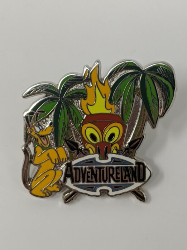 Pluto Adventureland Disney Pin Trading