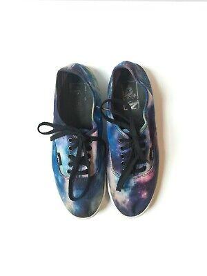 Vans Cosmic Galaxy Sneakers - Women's Size 8, Men's Size 6.5