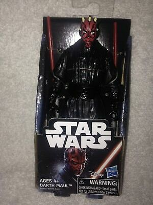 Darth Maul 4 1/2 Inch Disney Themed Action Figure New In Box 2017 Figure