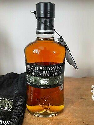 Highland Park ERDA Earth Mother 13y / 700ml / 58,7% Cask No.6394 mit Jutesack