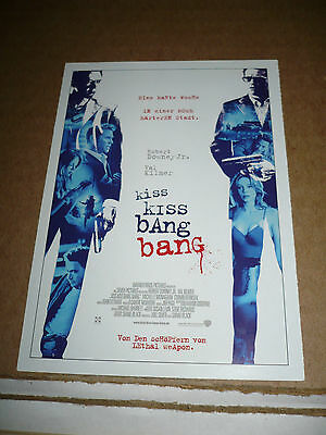 Kiss Kiss Bang Bang  Film Card  Robert Downey Jr   Val Kilmer