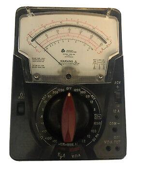 Triplett Model 630-na Volt Ohm Meter Fast Shipping