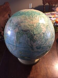 datant Rand McNally Globe