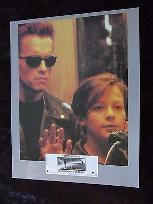Terminator 2 lobby card # 4 Arnold Schwarzenegger