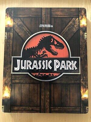 JURASSIC PARK Zavvi UK Exclusive Limited Edition STEELBOOK Blu Ray