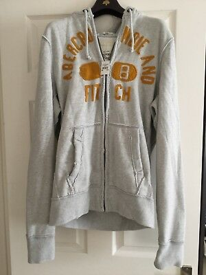 Abercrombie & Fitch Men's Super soft Muscle Hoodie - Size Large