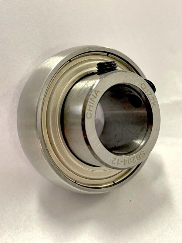 "SB202-10 5/8"" Bore Spherical Set Screw Insert Bearing 5/8"" x 40mm OD"