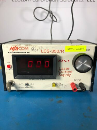 M/A-COM LCS-350/R Laser Current Supply *30DAY ROR*