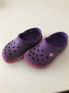 CROCS Girls Toddler Size 6 Shoes