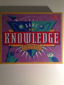 Game of Knowledge Bellevue Heights Mitcham Area Preview