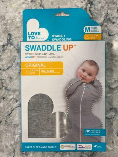 Love to Dream Swaddle up Original Gray Medium - New & Unopened