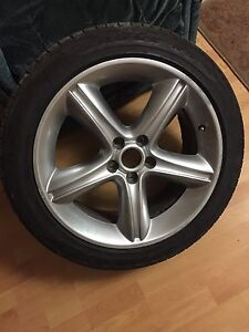 Mustang rims 19 on 95% Goodyear tires