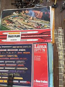 Vintage Lima model trains and Hornby tracks Nedlands Nedlands Area Preview