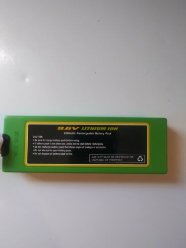 RC CHARGERS Official 9.6 Volt 2200 mAH Lithium Ion Rechargea