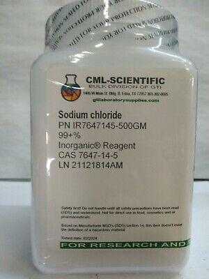 Sodium Chloride 99 Inorganic Reagent 500g