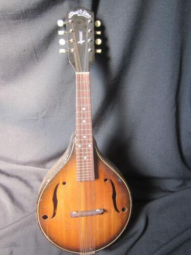 Vintage Stradolin 1930s Mandolin