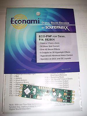 Soundtraxx Econami ECO-PNP Diesel NEW !!  882004 Bob The Train Guy