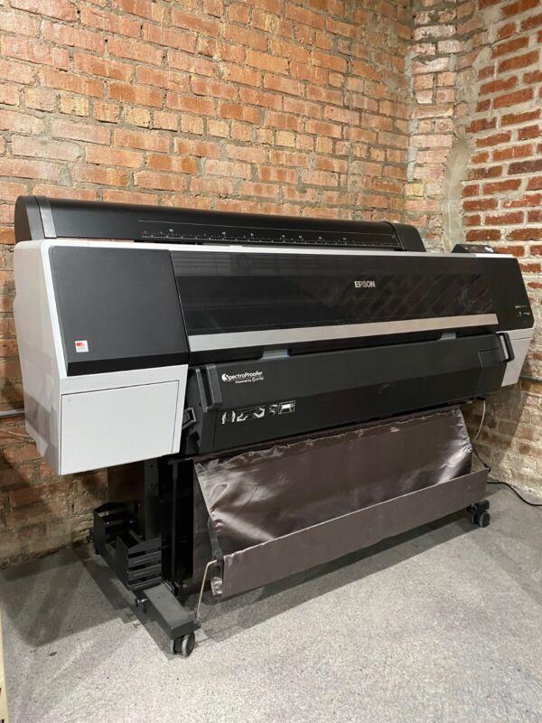 "EPSON SureColor P9000 44"" Printer, SpectroProofer, Drive, Inks - Excellent Cond."