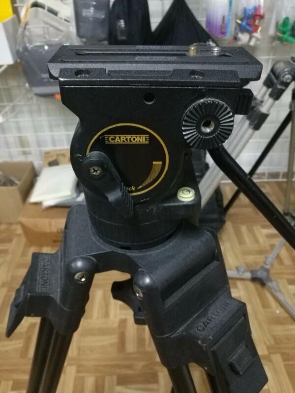 Cartoni Action Pro Head + Tripod 75mm with Spreader
