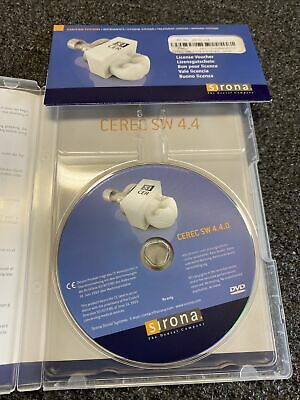 Cerec 4.4 Licence  Sirona And Software